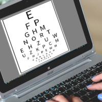 Testes on-line de visão afastam pacientes da medicina